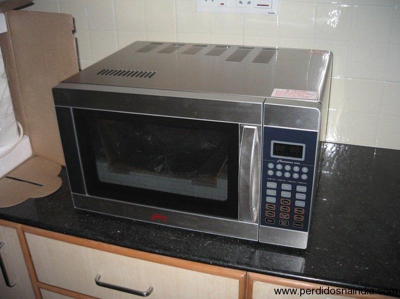 Microondas e forno em 1!