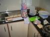 Sanduiche de queijo e presunto