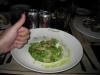 Cesar's salad... boa demais! Fazia tempo que eu não comia salada.