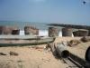 Praia em Chennai com proteção para Tsunami!