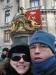 Chico e a Carol na frente da Ópera de Paris