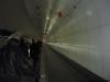 Esteira entre estações de metro