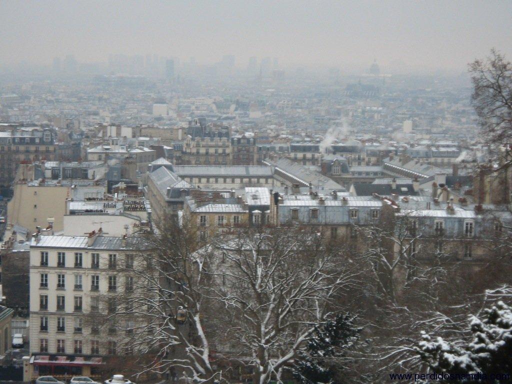 Vista de Paris a partir da Catedral