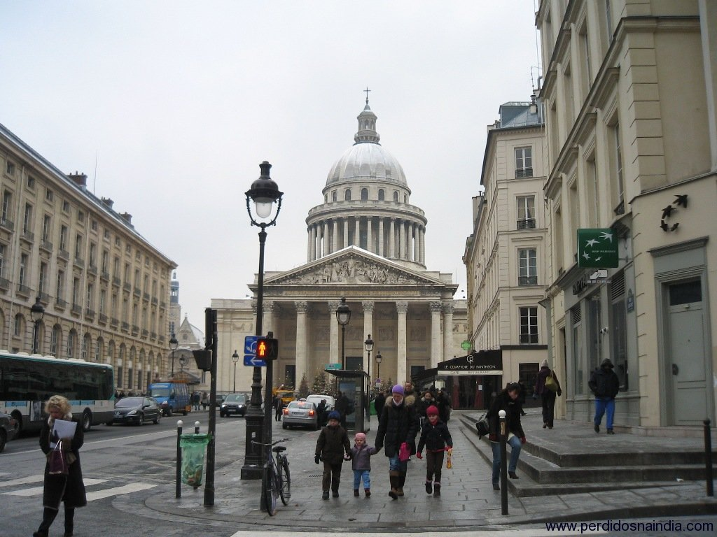 Indo para o Pantheon