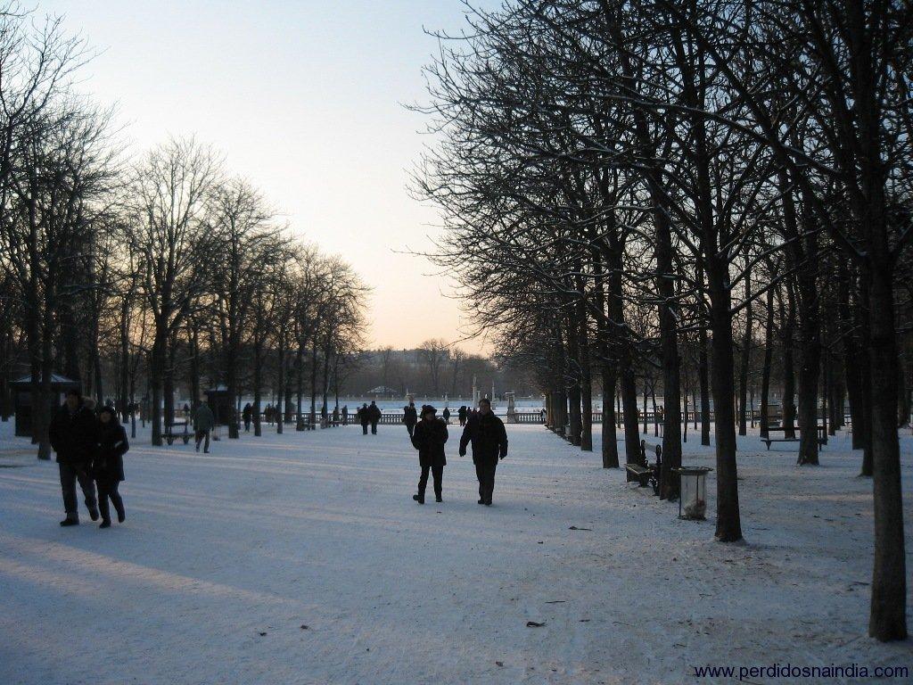 Foto do Jardim de Luxemburgo