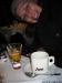 Schapps de pêssego e café! ;)