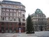 Prédios na frente da Stephansdom