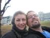 Eu e a Carol no Hofburg