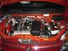 A parte interna do motor foi feita com tinta camaleão!
