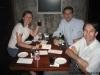 Jantar no Hard Rock Café, Carol, Jackson e Ivo