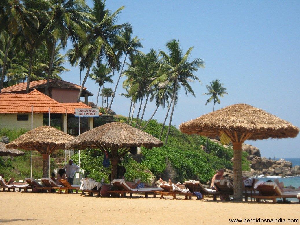 Cabanas na praia...